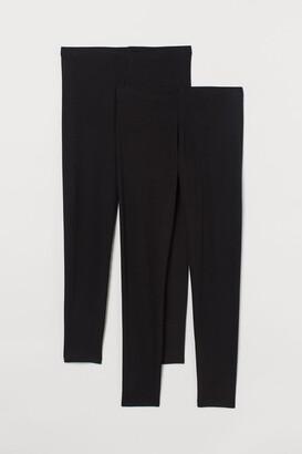 H&M H&M+ 2-pack Jersey Leggings