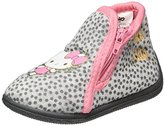 Hello Kitty Girls' Hk Blanca Open Back Slippers grey Size:
