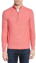 Men's Jeremy Argyle Quarter Zip Sweater