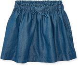 Ralph Lauren Chambray Pull-On Skirt