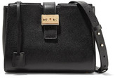 MICHAEL Michael Kors Bond Textured-leather Shoulder Bag - Black