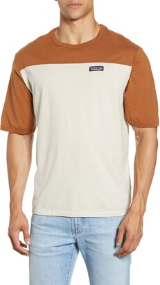Patagonia Colorblock Cotton T-Shirt