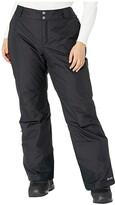 Columbia Plus Size Bugabootm Omni-Heat Pants (Black 2) Women's Outerwear
