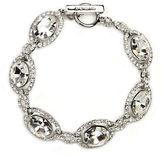 Givenchy Silver-Tone Crystal Toggle Bracelet