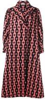 Emilia Wickstead 'Troy' oversized coat - women - Silk/Acrylic/Wool/Virgin Wool - S
