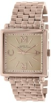 Marc by Marc Jacobs MBM3260 Truman Rose Gold Tone Square 30mm Watch