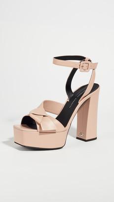 Giuseppe Zanotti Platform Ankle Strap Sandals