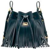 Dooney & Bourke Lulu Christa Leather Drawstring Bag