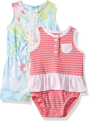 Carter's Baby Girls' 2-Pack Romper