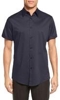 Vince Men's Trim Fit Short Sleeve Sport Shirt