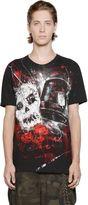 Faith Connexion Graffiti Skull Cotton Jersey T-Shirt