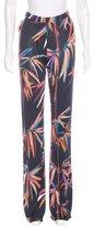 Emilio Pucci Floral Print Wide-Leg Pants w/ Tags