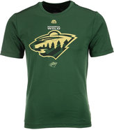 Majestic Men's Minnesota Wild Solid Win Synthetic T-Shirt
