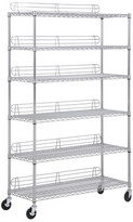 """Honey-Can-Do Urban 72"""" H 6 Shelf Shelving Unit"""