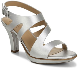 Naturalizer Dee Metallic Heeled Sandal - Wide Width Available