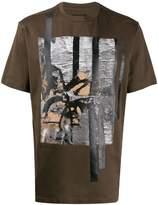 Ermenegildo Zegna abstract-print logo T-shirt