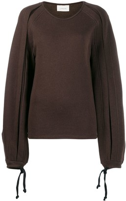 Lemaire tied cuffs jumper