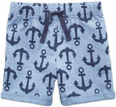 First Impressions Anchor-Print Shorts, Baby Boys, Created for Macy's