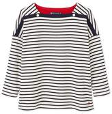 Petit Bateau Womens 3/4-sleeved sailor top