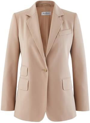 Max Mara Cropped gabardine jacket