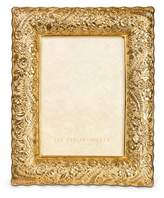 """Jay Strongwater Ruffle-Edge Floral 5"""" x 7"""" Frame"""