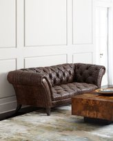 Old Hickory Tannery Fritz Tufted-Leather Sofa