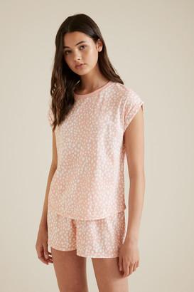 Seed Heritage Ocelot Print Pyjama
