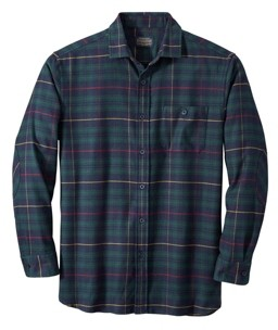 Pendleton Mens Cascade Flannel Shirt