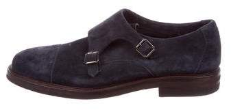 Brunello Cucinelli Cap-Toe Monk Strap Shoes