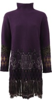 Etro Intarsia Knit Pullover Tunic
