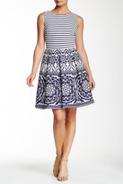 Taylor Sleeveless Flare Skirt Dress