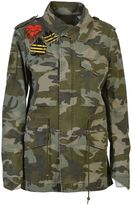 Mr & Mrs Italy Camouflage Field Jacket