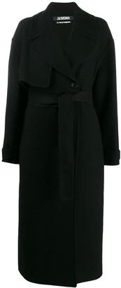 Jacquemus Le Manteau Sabe coat