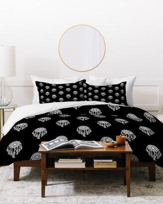 Deny Designs Lisa Argyropoulos Dreamcatchers Mono Duvet Cover Set