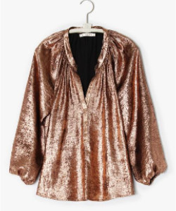 XiRENA The Farrah Top In Bronze - XS