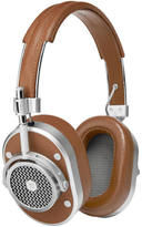 Master and Dynamic MH40 Over Ear Headphones Silver/Brown
