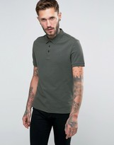 Armani Jeans Polo Shirt with Logo Regular Fit In Olive