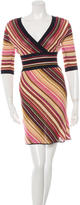 M Missoni Knit Patterned Dress