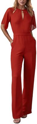 Reiss Scarlet Chiffon Jumpsuit