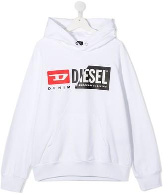 Diesel Logo-Print Hoodie