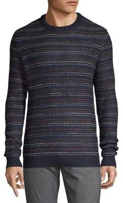 Jack and Jones Textured Cotton-Blend Sweater