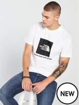 THE NORTH FACE Short Sleeve Raglan Redbox T-Shirt - White
