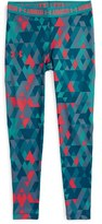 Under Armour Girl's 'Armour Printed' Heatgear Leggings