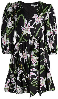 Borgo de Nor Anita Floral Poplin Dress