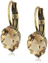 Sorrelli Rustic Bloom Mini Navette Crystal Drop Earrings