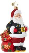 Christopher Radko Der Weihnachtsmann Glass Ornament