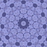 Blue Area Floral Rug East Urban Home Rug Size: Square 5'