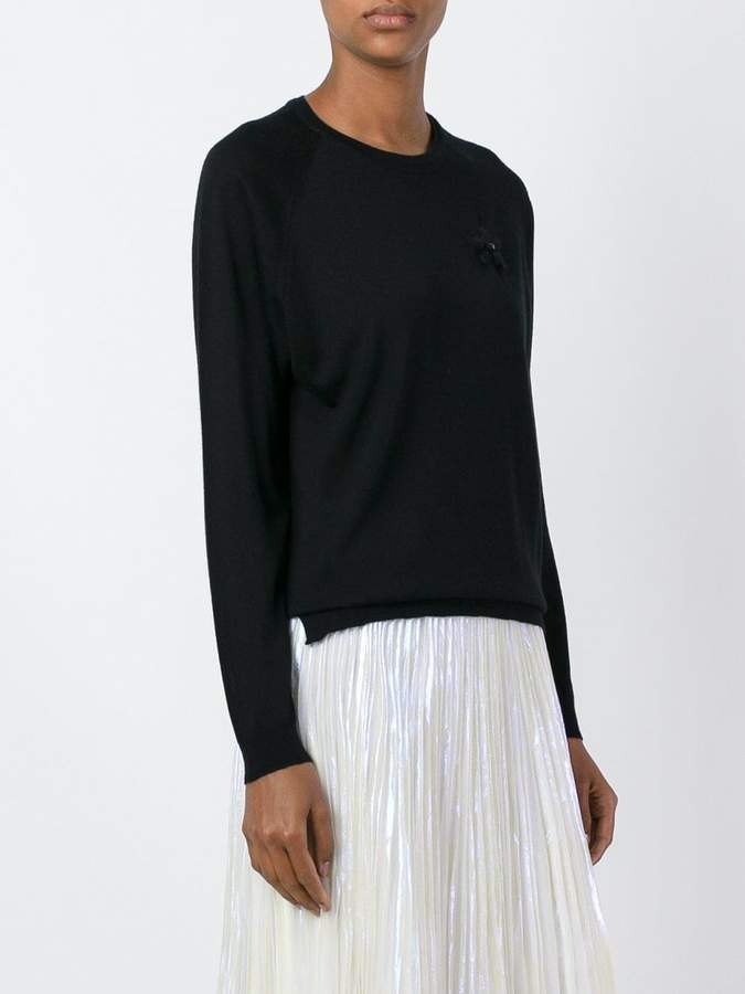 Simone Rocha embroidered detail sweater