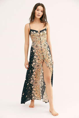 Free People Morning Song Printed-Maxi