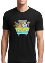 Scooby-Doo mistery machine for Large Black men T shirt